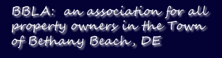 Bethany Beach Landowners Association